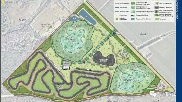 新赛车场规划设计图